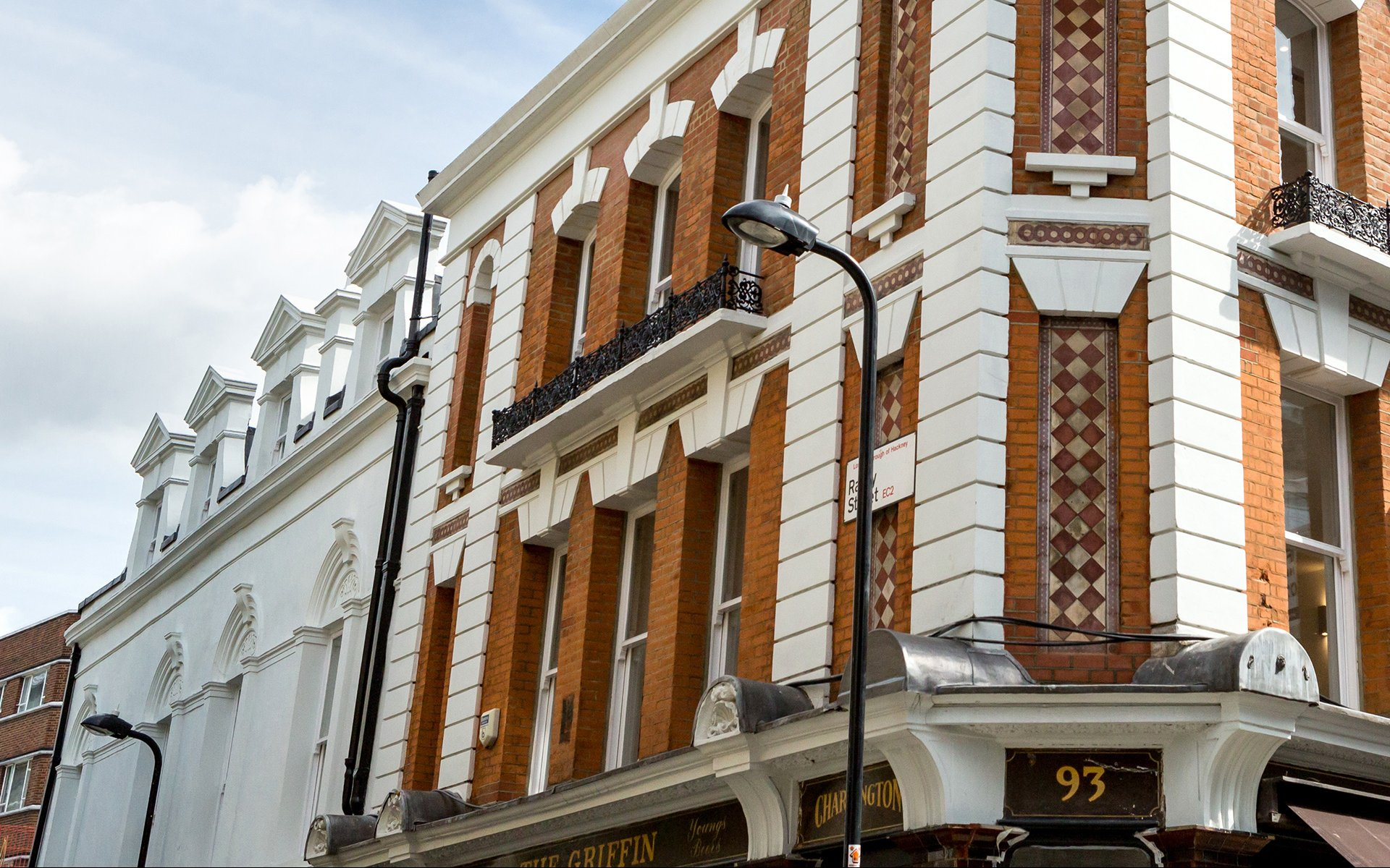Conversion of listed building into two luxury penthouses and remodeling of the original pub