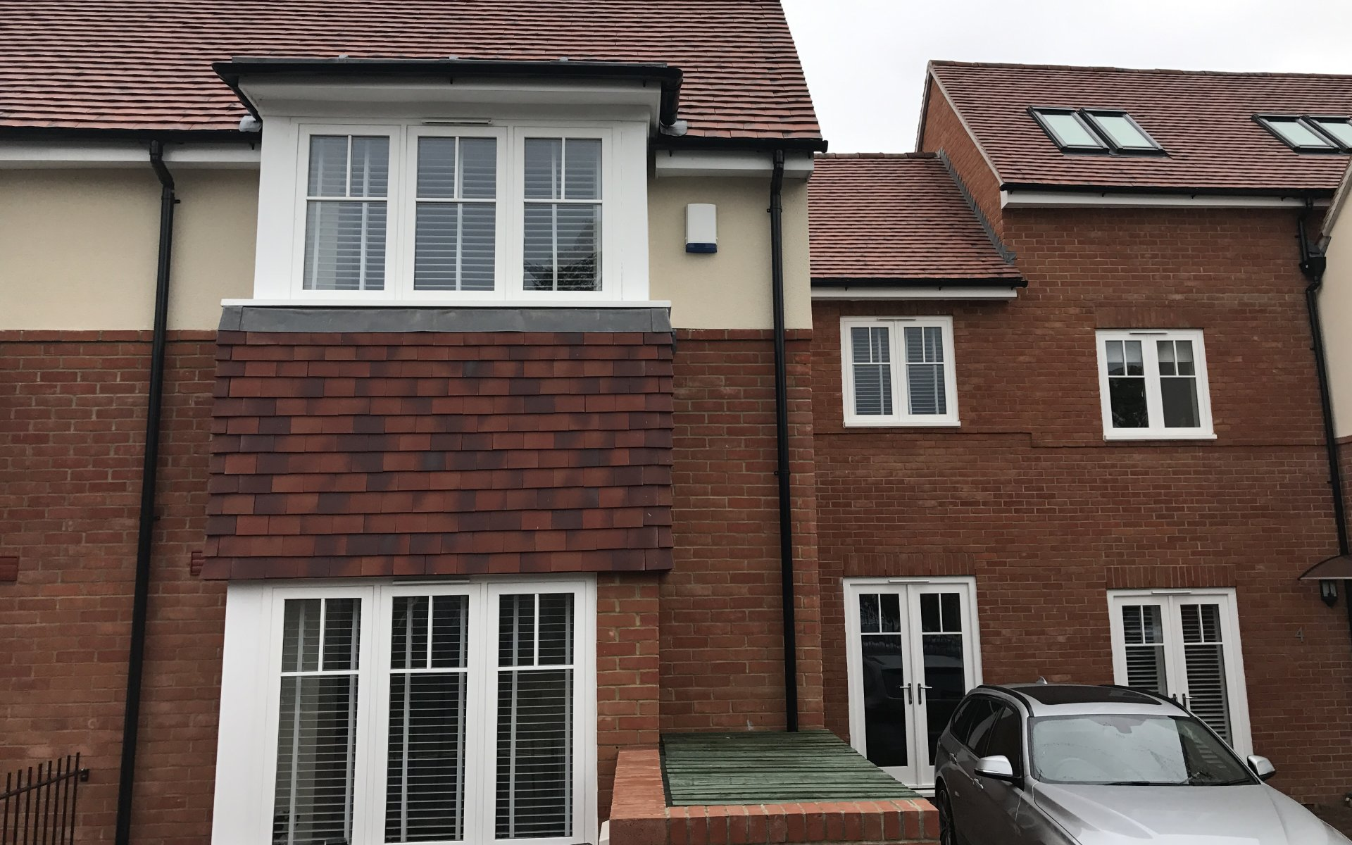 New Development of Six Town Houses in Marlow, Buckinghamshire